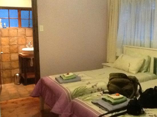 The AardVark Guesthouse and Backpackers: Room with on suite