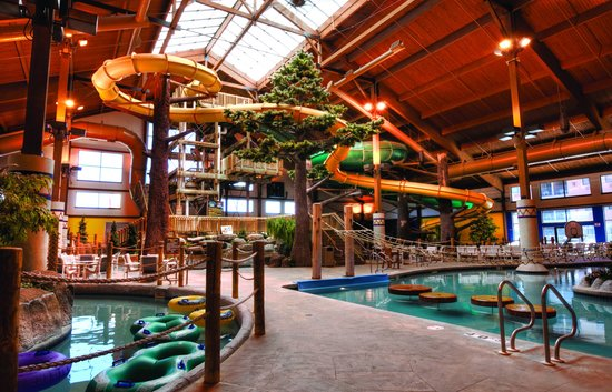 Timber Ridge Lodge & Waterpark: Moose Mountain Falls Waterpark