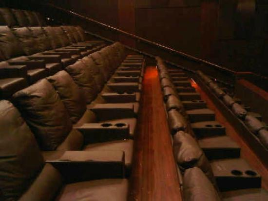 Huge Leather Seats Picture Of Silverspot Cinema Naples TripAdvisor