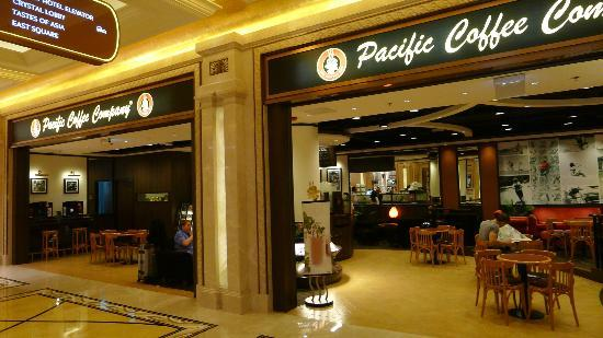 pacific coffee at galaxy macau - picture of galaxy hotel, macau
