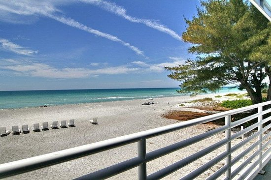 Gulf Tides of Longboat Key : View From Penthouse Balcony