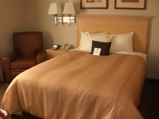 Candlewood Suites Milwaukee North Brown Deer/Mequon: Single Bed Guest Room