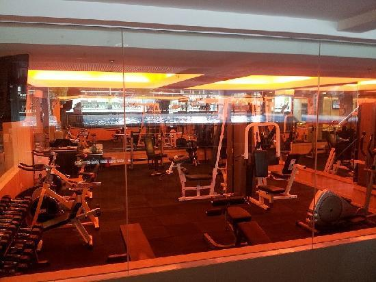 Ritz Garden Hotel: gym room
