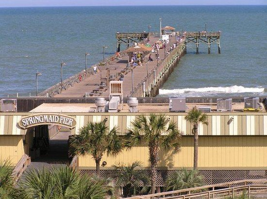 Myrtle Beach Hotels With Fishing Piers