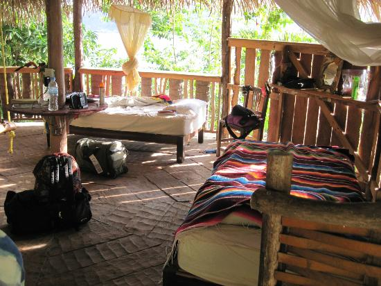 El Jardin Eco Retreat: our palapa
