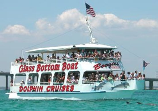 Glass Bottom Boat Ride - Boogies Watersports