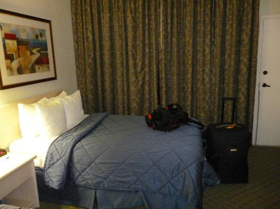 Comfort Inn and Executive Suites : Un lit double 