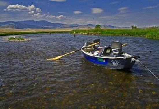 Float or wade fishing picture of montana angler fly for Montana fishing trips