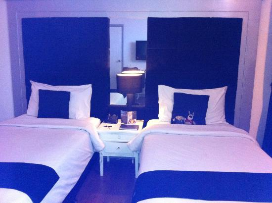 J Boutique Hotel: Twin share room on ground floor
