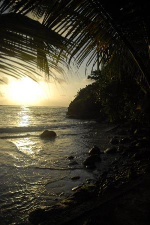 Grenville, Grenada: A cabier Beach sunrise.