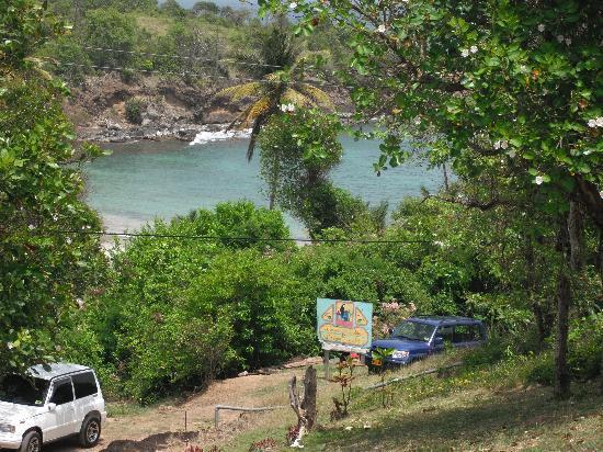Grenville, Grenada: view of the bay from Two Bays