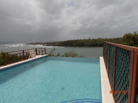 Grenville, Grenada: infinity pool