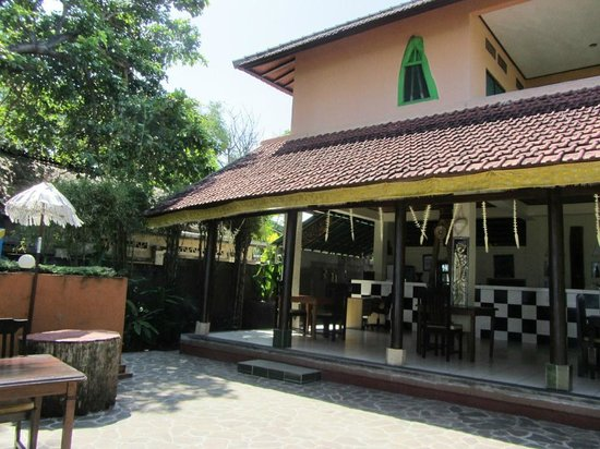 1000 Dream Bungalow - Lovina: Restaurant