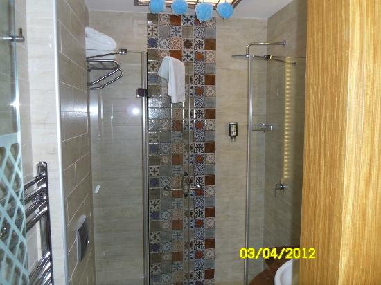 Collage Taksim: shower