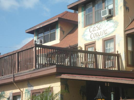 Casa Coquina Bed and Breakfast: Deck