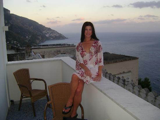 Palazzo Marzoli Resort: Sitting on the balcony!