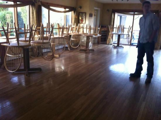 The Black Walnut Inn and Stables: Dining room/Restaurant (Indoor Reception Room)