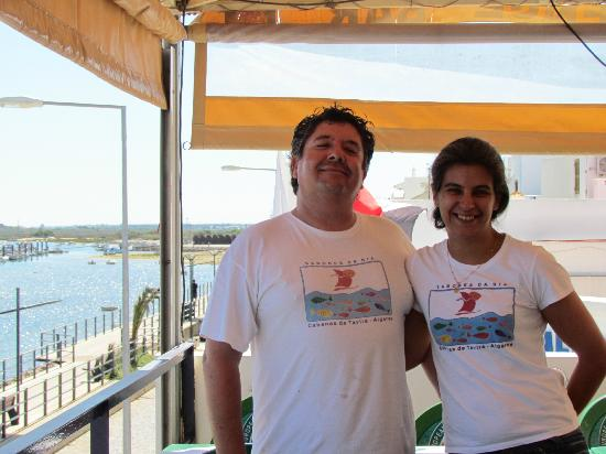 Cabanas, Portugal: Paulo and Rude - mein hosts