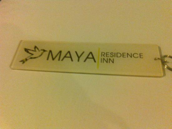 Maya Residence Inn: Room&#39;s Key