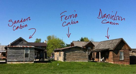 Nauvoo, IL: the cabins