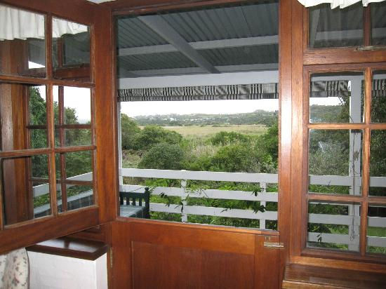 Kingfisher Country House: View from the room