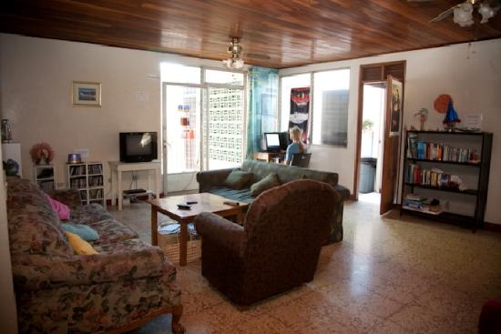Managua Backpackers Inn: Common Area