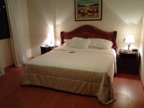 Miraflores Colon Hotel: Dormitorio cama king