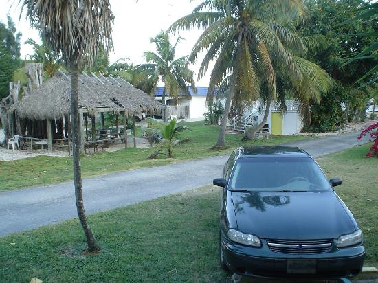 Bonefish Bay Motel: view from our door