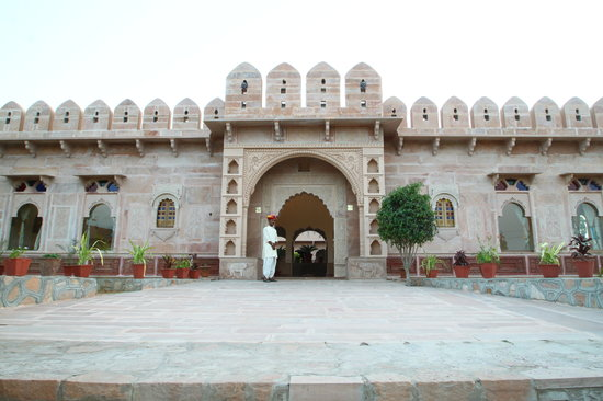 The Pushkar Bagh: Grand Entrance