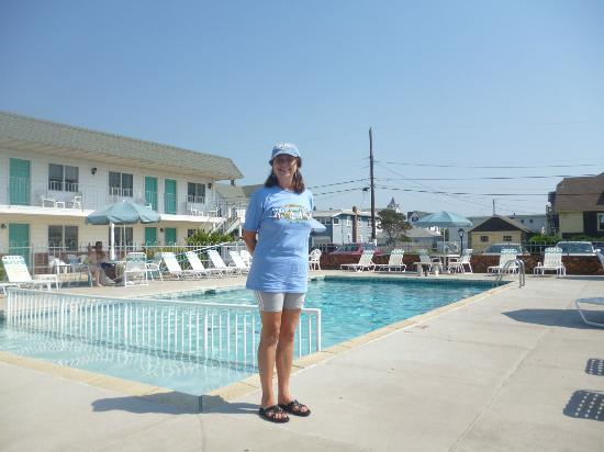 Jetty Motel: Me at Jetty pool