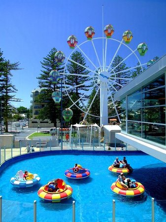 Beachouse bumper boats and ferris wheel picture of the for 21 south terrace adelaide