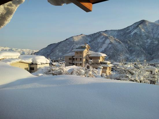 Hotel Futaba: view from the room
