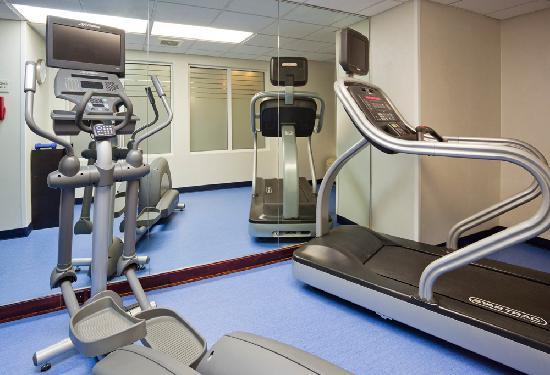 SpringHill Suites Mayo Clinic Area/St. Mary&#39;s: Onsite fitness room to maintain your exercise routine while traveling