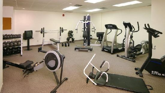 The Business Inn: 24 Hour Fitness Facility