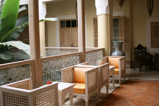 Riad Azoulay: inside the Riad