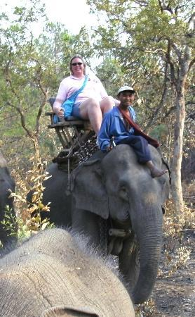 Galyani Vadhana, Thailand: enjoying the ride with my mahout