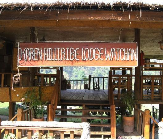 Galyani Vadhana, Thailand: Karen Hill Tribe Lodge