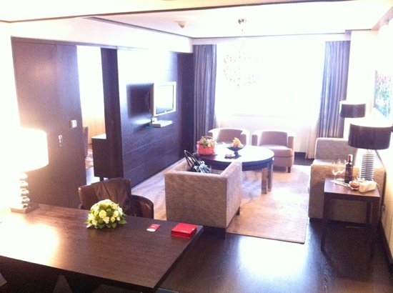 Hyatt Regency Kiev: deluxe room / living room