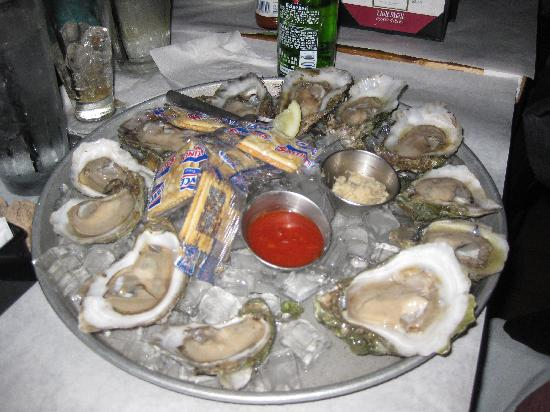Oysters on The Half Shell Half Shell Oyster House