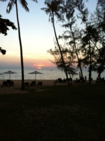 Arcadia Phu Quoc Resort: Beautiful sunset