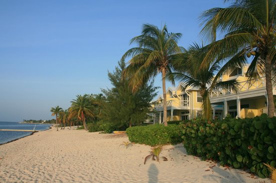 Conch Club Condominiums: View of the condos from the beach