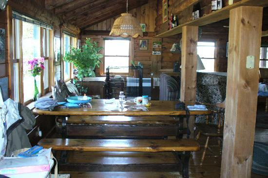 Eden Mountain Lodge: great place to eat
