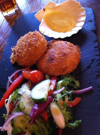 Wheelwright Inn: Fishcakes