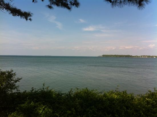 Wades Point Inn on the Bay: The gorgeous view