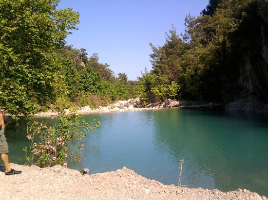 Goynuk, Turkey: One of the pools