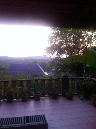 Baan Rao Bed & Breakfast: View from B&B livingroom