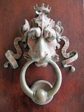 Province of Cagliari, Italien: One of the door knockers.
