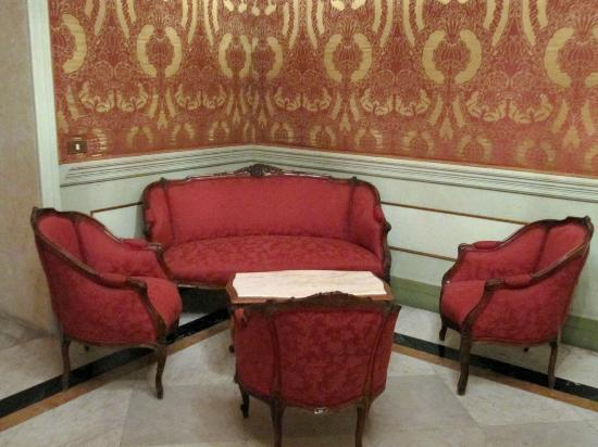 Province of Cagliari, Italien: Red furniture.