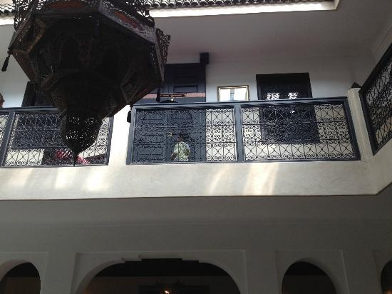Riad Anjar: Balcony overlooking the Atrium
