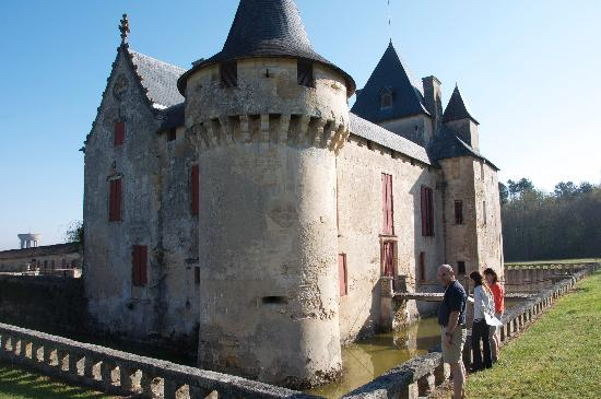 Historical Château Olivier, pessac-Leognan